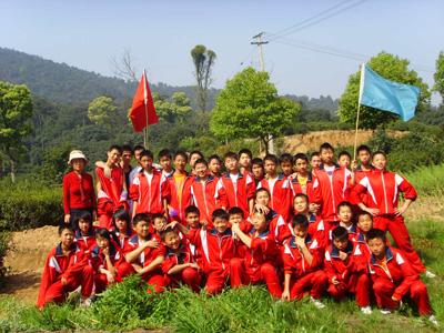 天下第一景观武术学校---湖州市清泉武术学校!